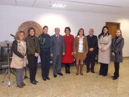 CEVID realiza reunião para apresentar resultados do trabalho conjunto entre o Tribunal de Justiça, a Secretaria da Mulher de Curitiba e a Guarda Municipal - Patrulha Maria da Penha